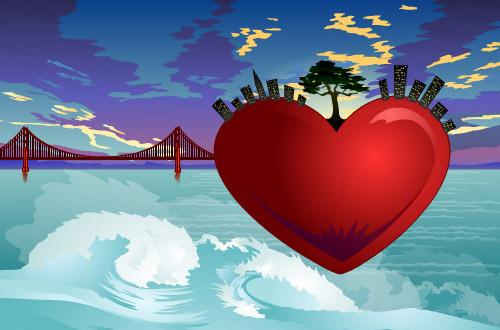 Valentine Card  Artwork Nicole Hanusek