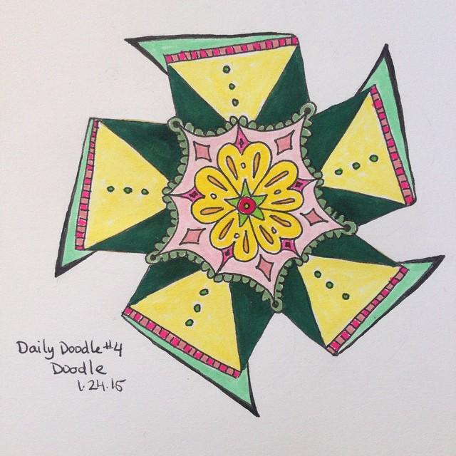No.4 Doodle #dailydoodle #doodle #sketch