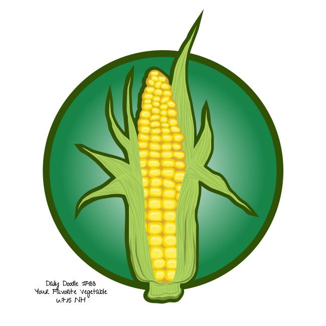 133-your-favorite-vegetable-corn-artwork-doodle-sketch-drawing-illustration